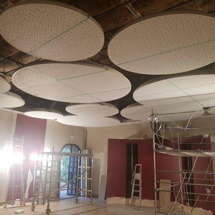 Colocação de teto suspenso - Localidade de obra / Espanha