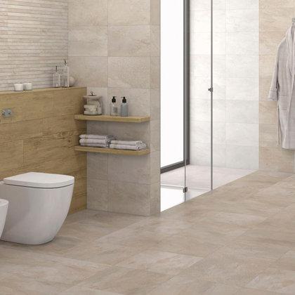 Revestimento de pisos casa de banho